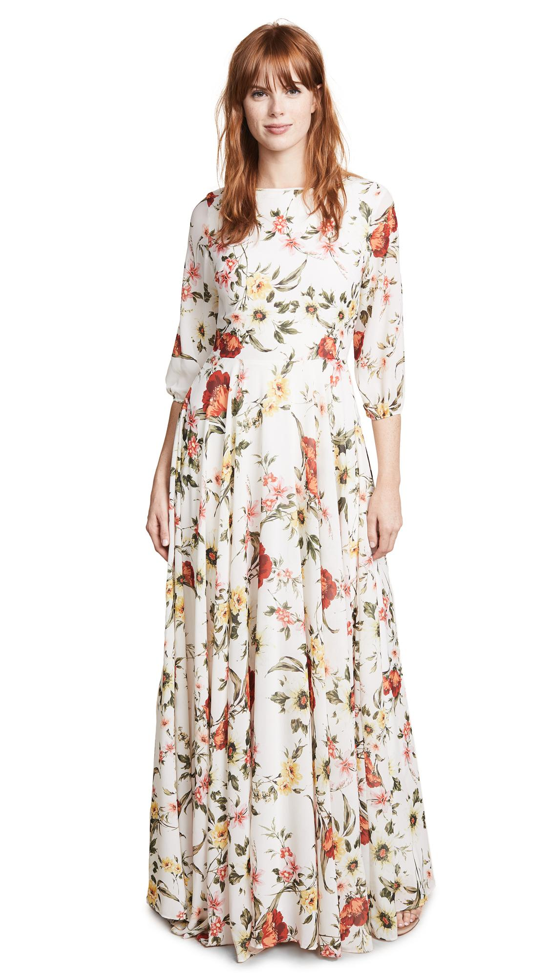 5374710c66 Yumi White Floral Long Sleeve Day Dress - Gomes Weine AG