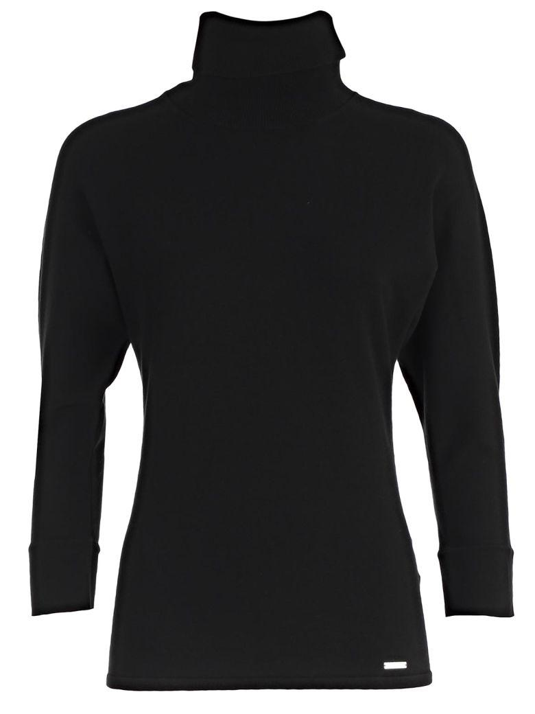 Dsquared2 Classic Turtleneck Knit Sweater In Black