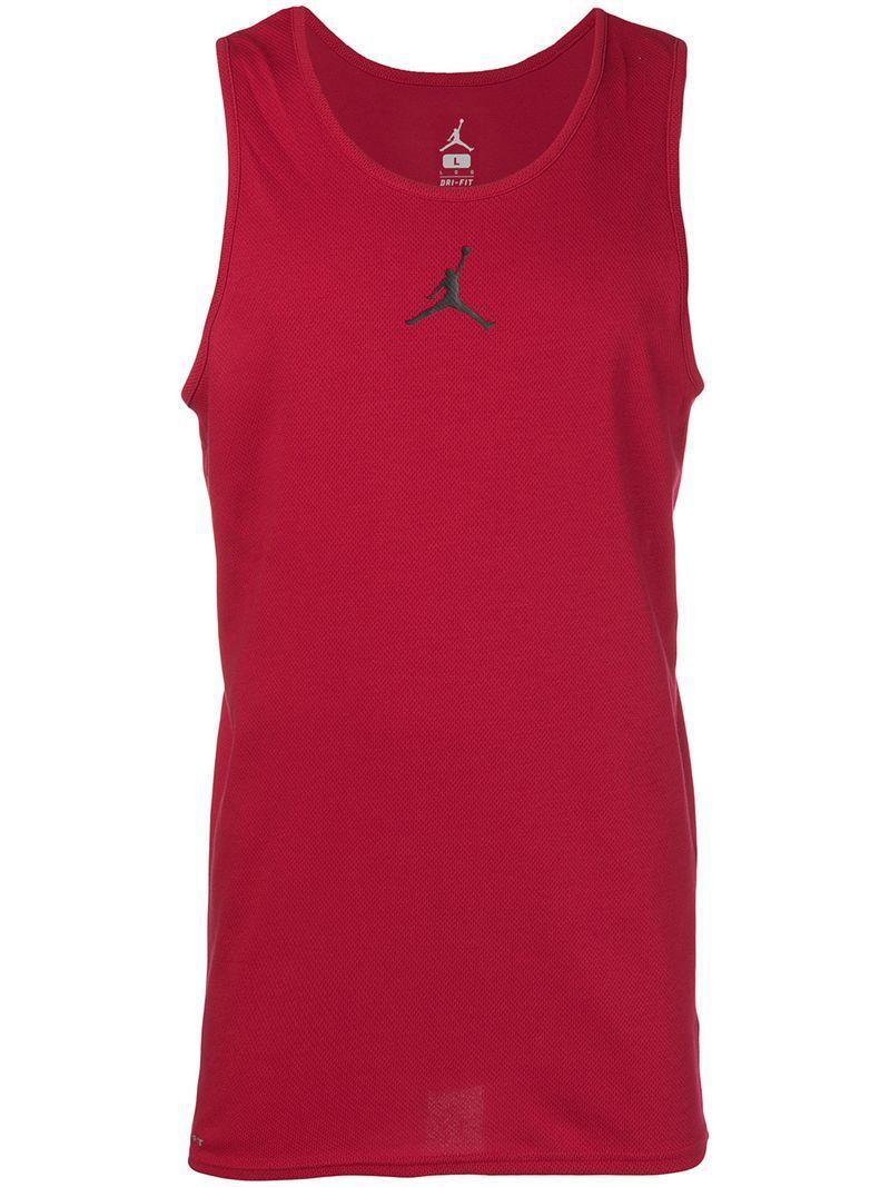 9bc5d33e5809 Nike Jordan Flight Basketball Tank Top - Red