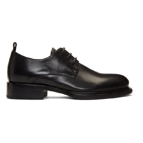 Ann Demeulemeester Lace-Up Oxford Shoes In Nero