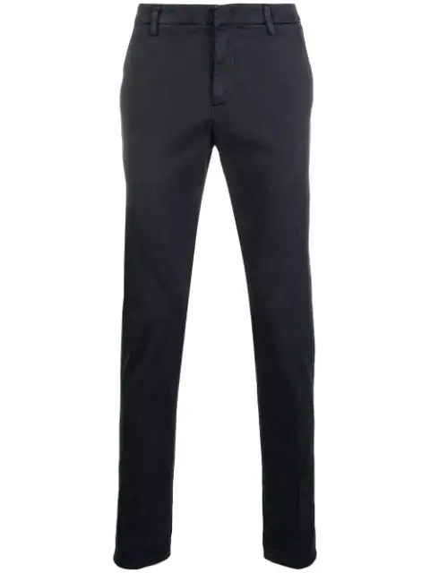 Dondup Straight Trousers - Black