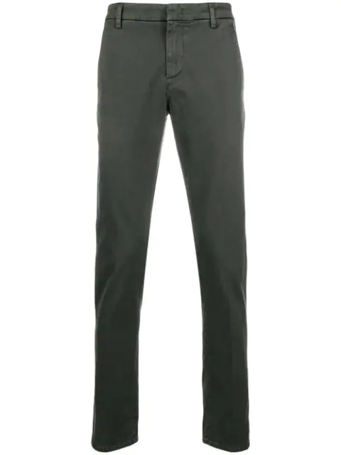 Dondup Straight Trousers - Grey