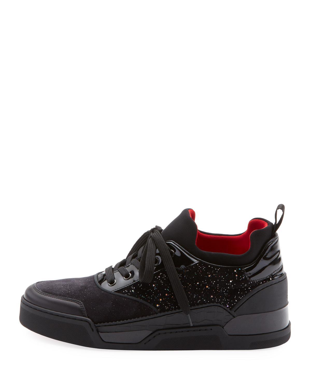 be91c71db55 Men's Aurelien Multimedia Low-Top Sneaker in Black