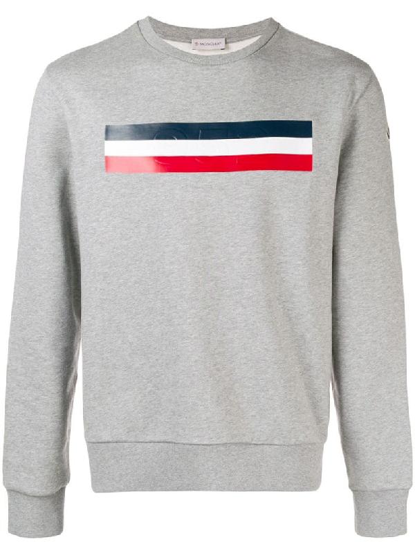 28bc013bb Men's Logo Graphic Pullover Sweatshirt in Grey