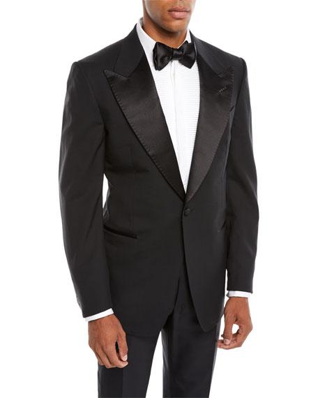 Tom Ford Men's Satin Peak-Lapel Two-Piece Tuxedo Suit