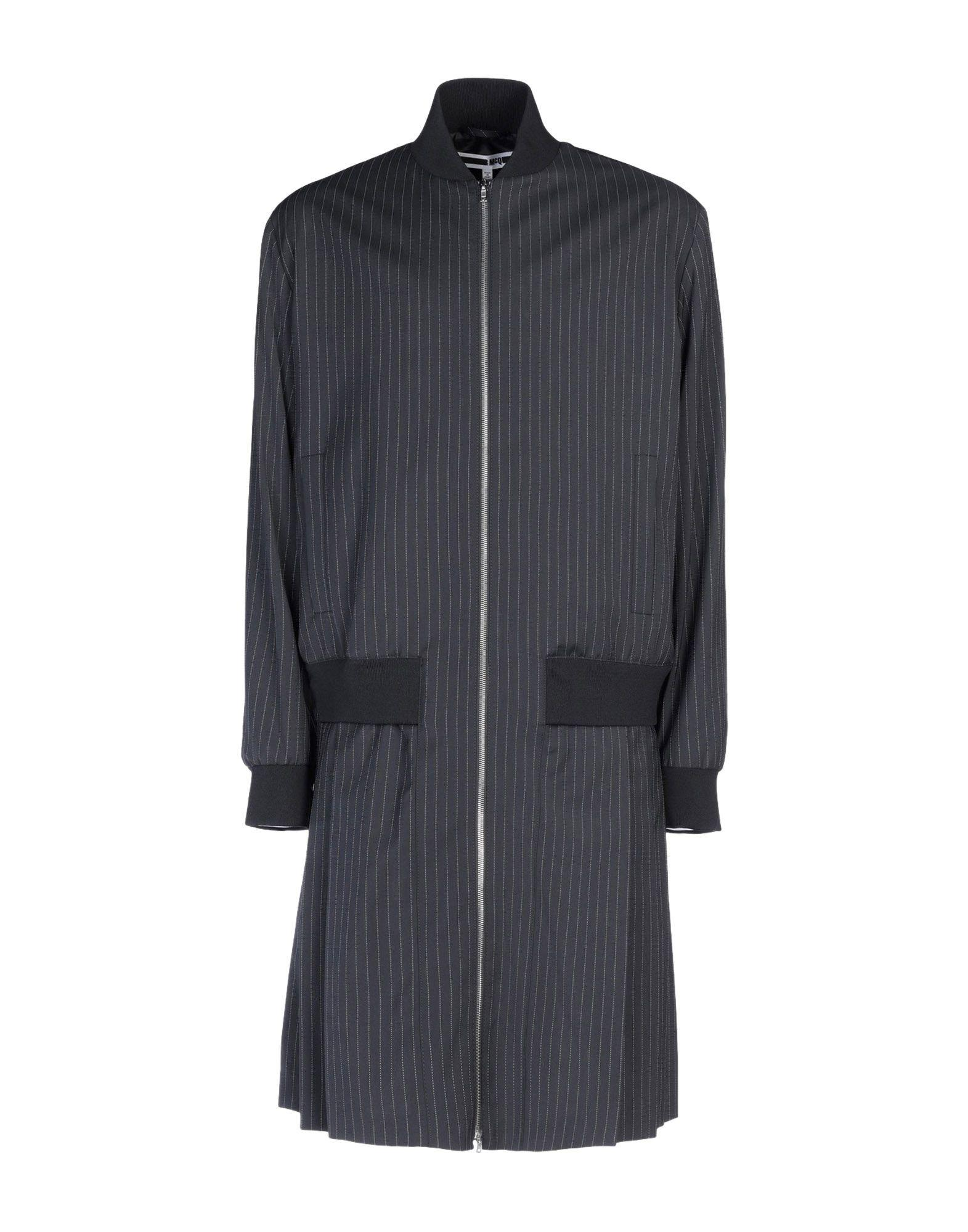 Mcq By Alexander Mcqueen Overcoats In Black