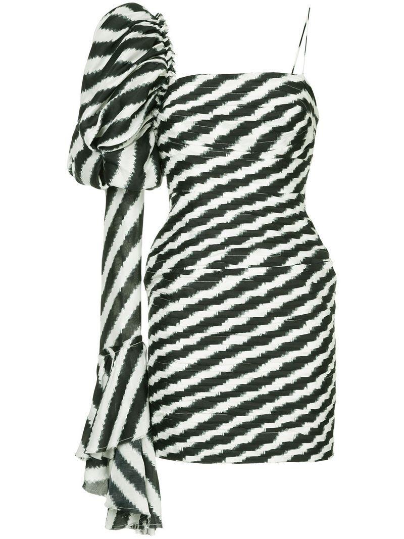 Aje Olearia Mini Dress - Black