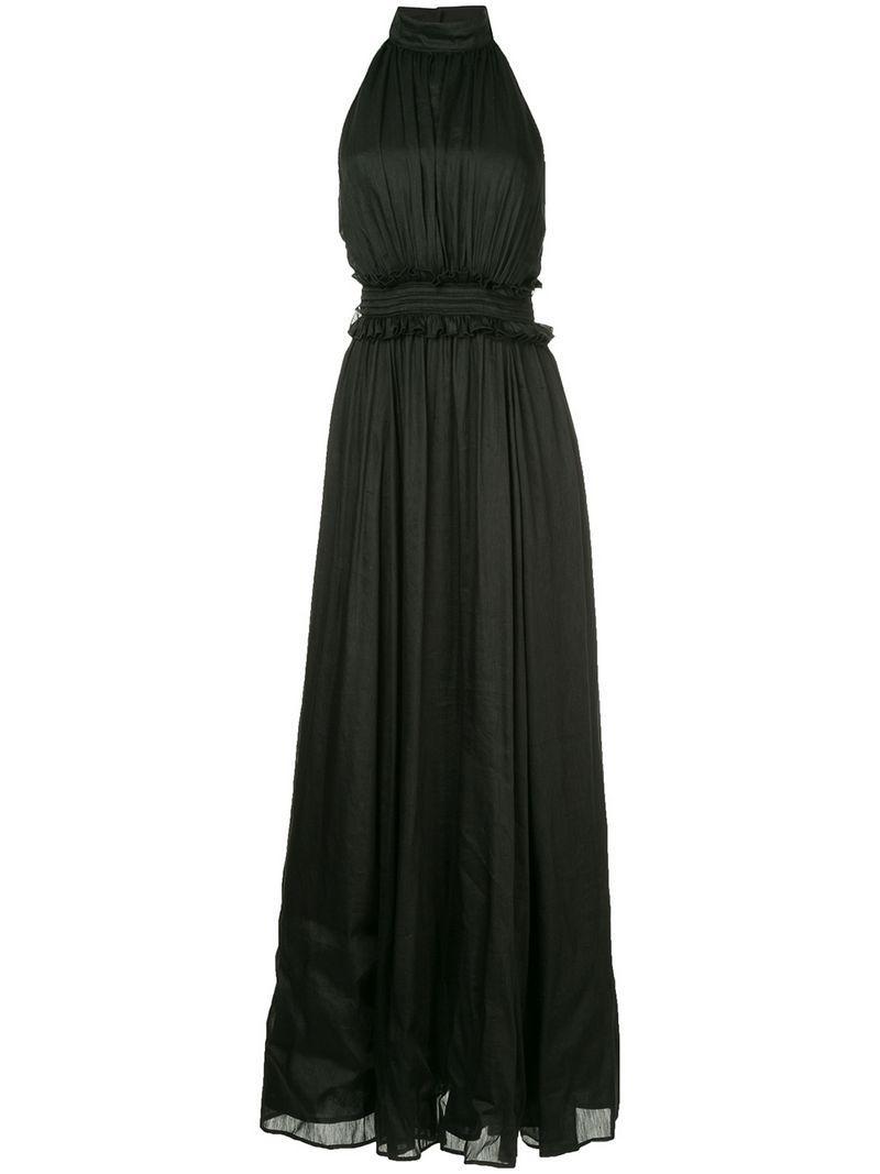 Aje Georgia Maxi Dress - Black