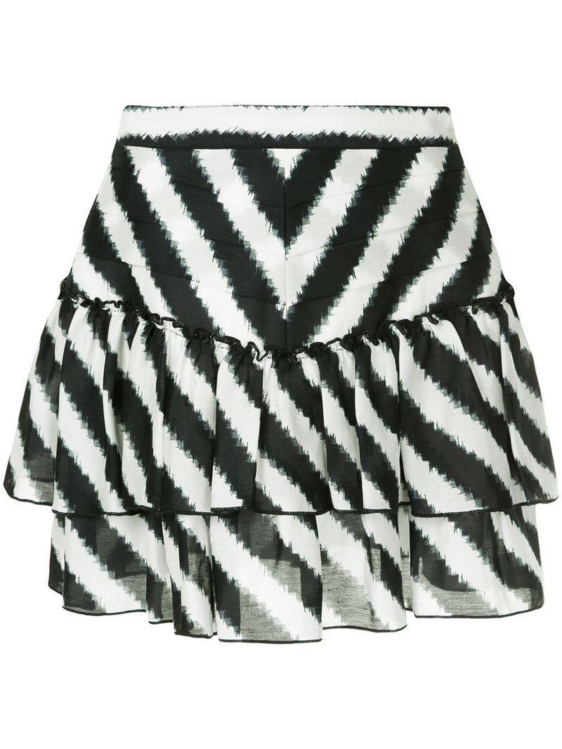 Aje Palomas Mini Skirt - Black