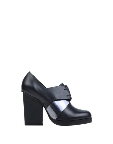 Jil Sander Laced Shoes In Dark Blue