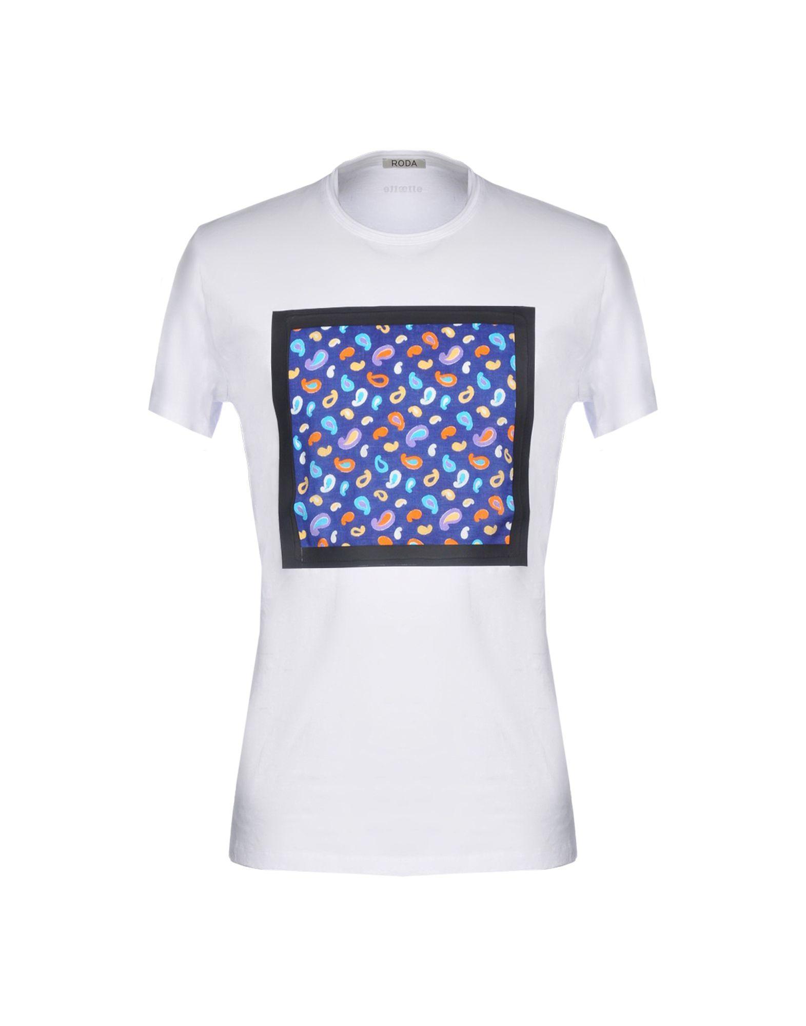 Roda T-Shirt In White