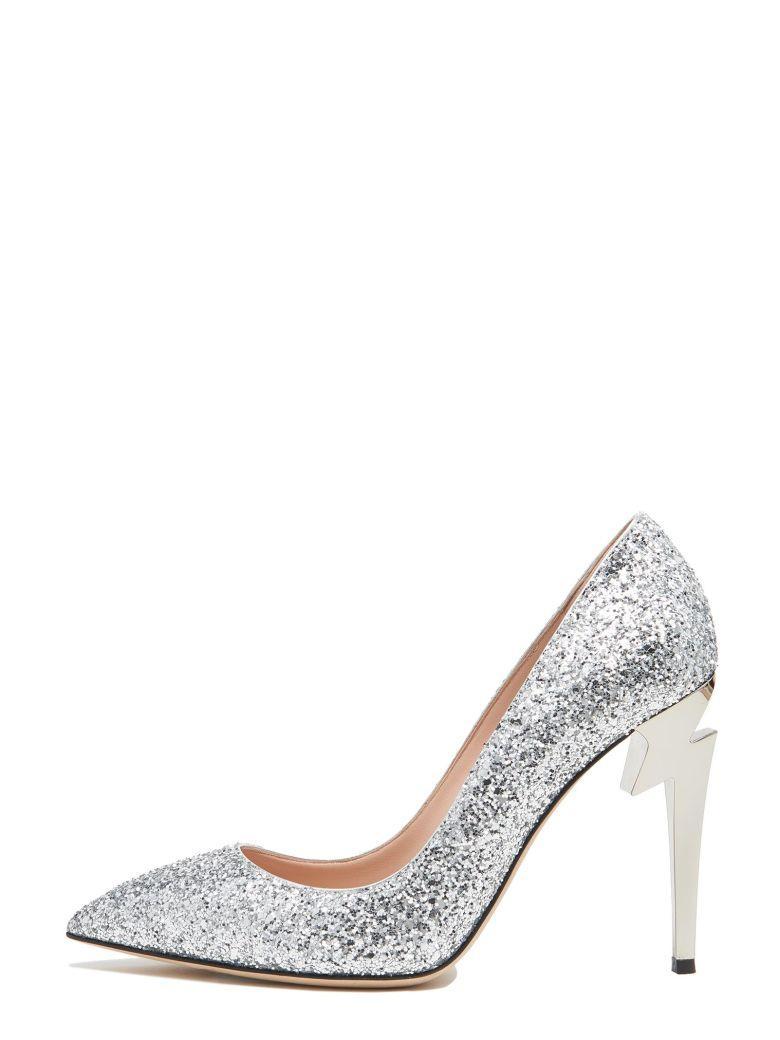8bcc5c654560a Giuseppe Zanotti 'Thunder' Shoes In Silver | ModeSens