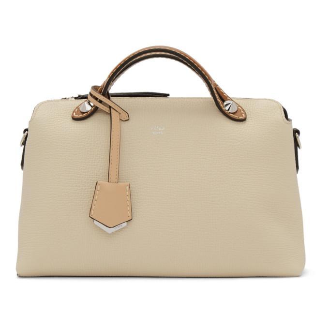64c21d6a3ca Fendi White Medium By The Way Bag In F13Wz White   ModeSens