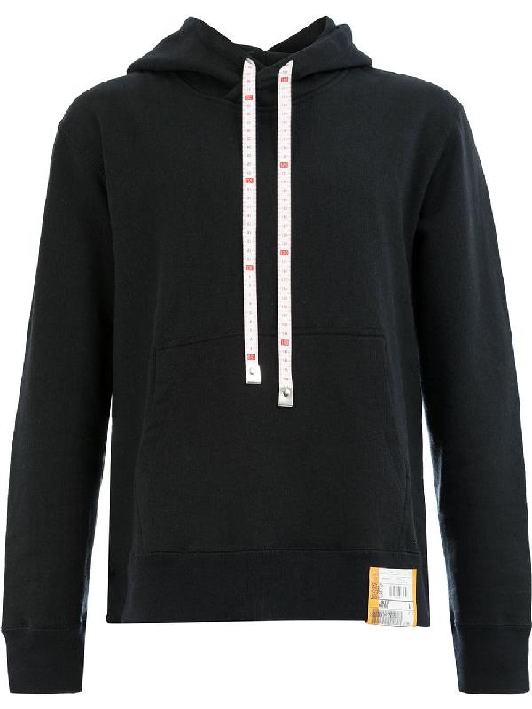 Miharayasuhiro Maison Mihara Yasuhiro Hooded Sweatshirt - Black