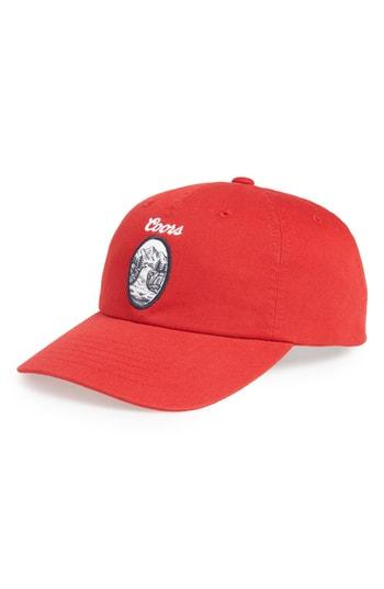 db1885a0f408ff Brixton Coors Filtered Baseball Cap - Red | ModeSens