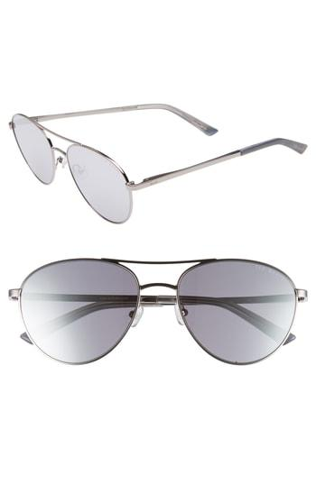 c94df95c935 Ted Baker 55Mm Aviator Sunglasses - Silver