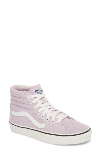 0ce5d0651e Vans  Sk8-Hi  Sneaker In Bleached Apricot  True White