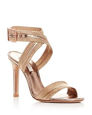 Casadei Women's Alma Leather High-Heel Sandals In Skin