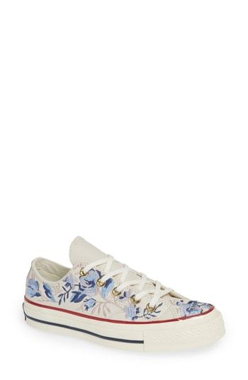 Converse Chuck Taylor All Star Parkway Floral 70 Low Top Sneaker In  Driftwood Leather 2ed3319bf