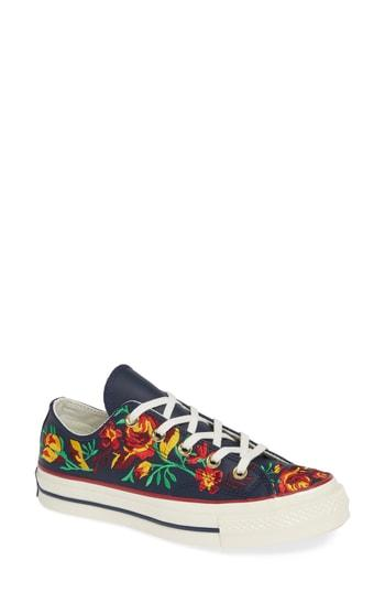 de92221c149c Converse Chuck Taylor All Star Parkway Floral 70 Low Top Sneaker In Obsidian   Cherry Leather