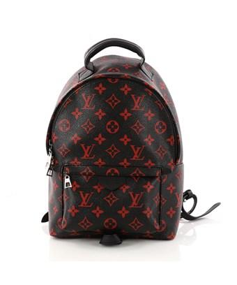805d63ae4076d Louis Vuitton Pre-Owned: Palm Springs Backpack Limited Edition Monogram  Infrarouge Pm In Black