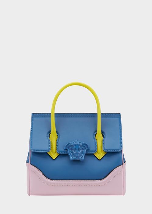 9530eea0aa8 Versace Palazzo Empire Medium Bag In Blue | ModeSens