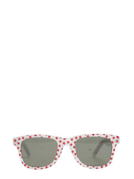 Saint Laurent Classic 51 Sunglasses In Red