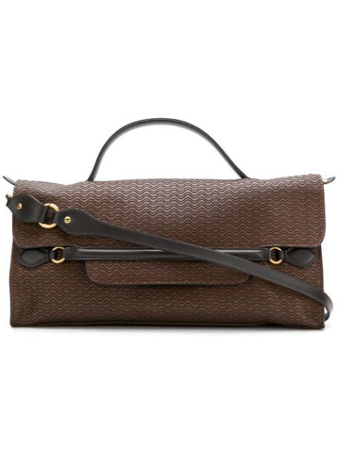 Zanellato Embossed Nina Bag In Brown