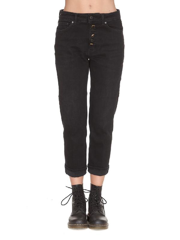 Dondup Koons Jeans In Black