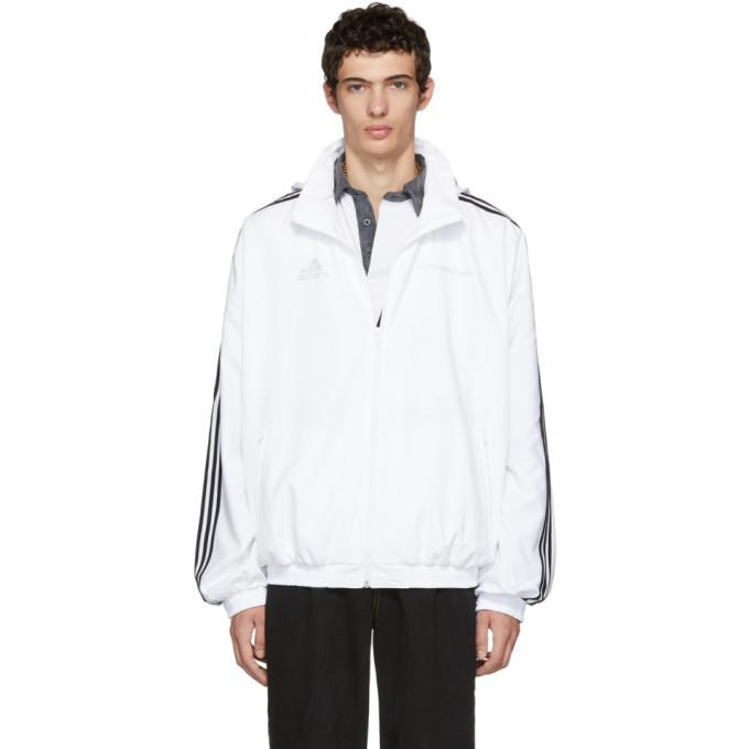 54e1e6513 Gosha Rubchinskiy White Adidas Originals Edition Track Jacket in White 3