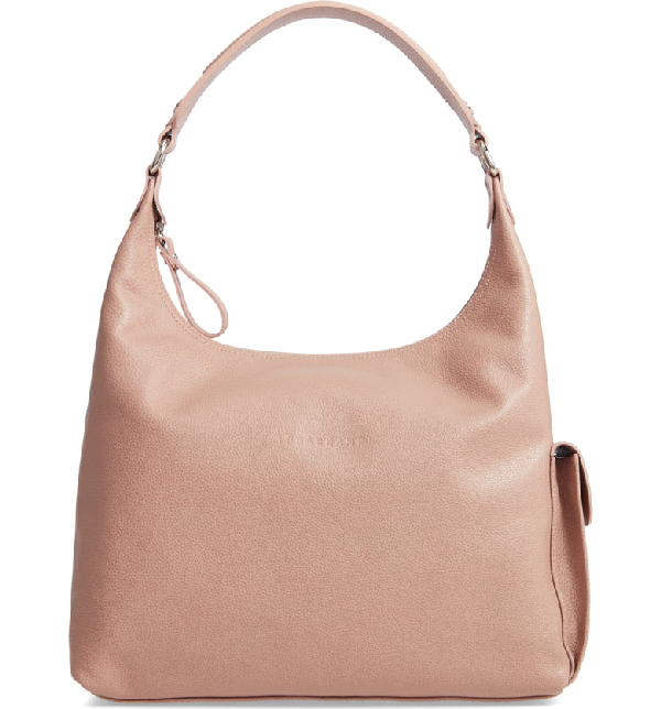 c30544932 Longchamp Le Foulonne Leather Hobo - Beige In Greige | ModeSens