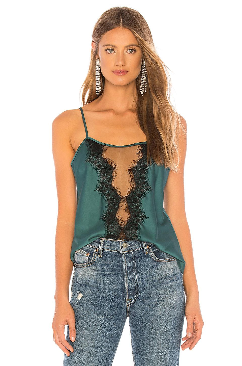 703935fceaa7 Thistle   Spire Tilden Lace Applique Cami In Green