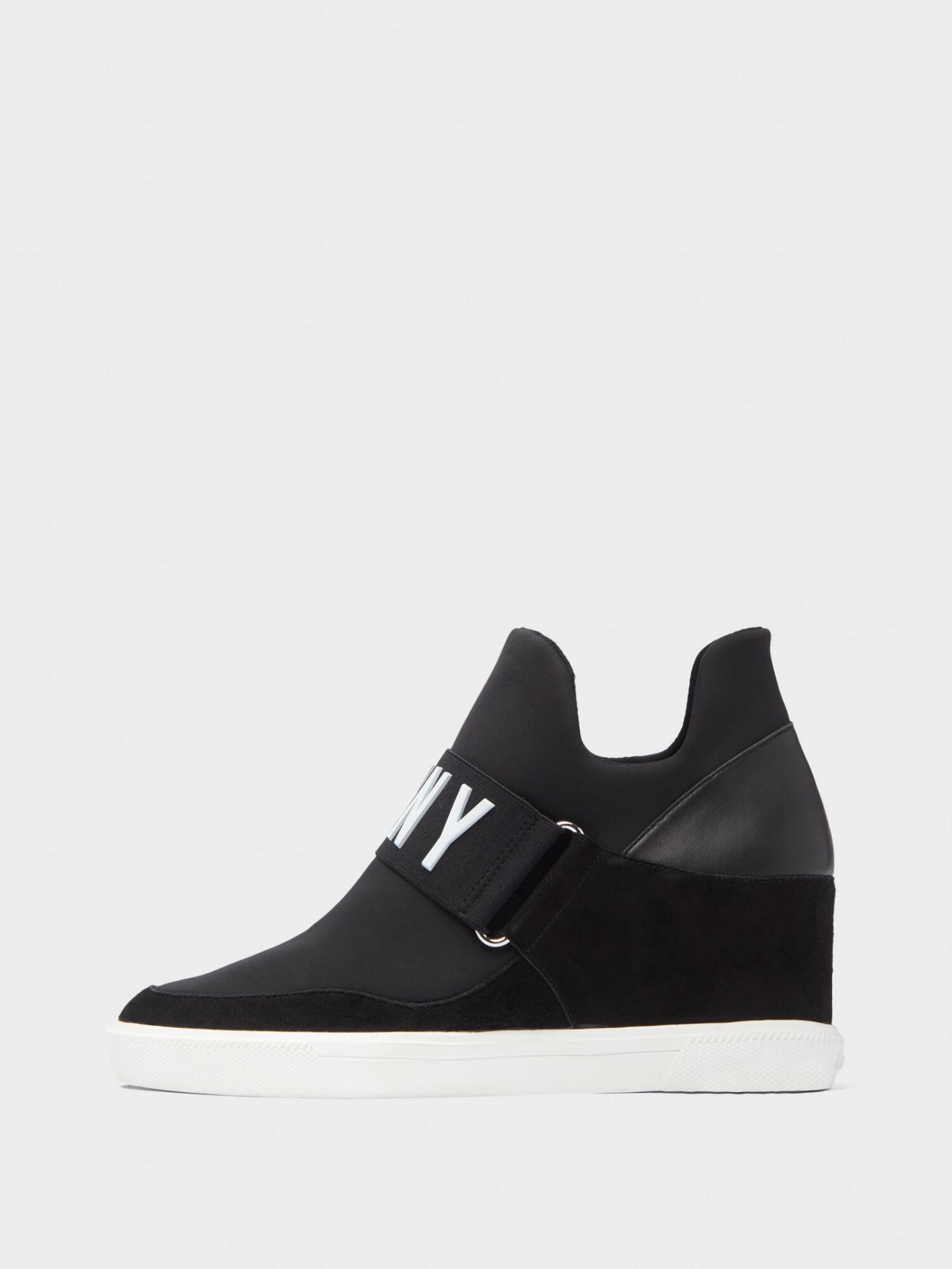 059fc5b6023 Donna Karan Cosmos Wedge Slip-On Sneaker In Black
