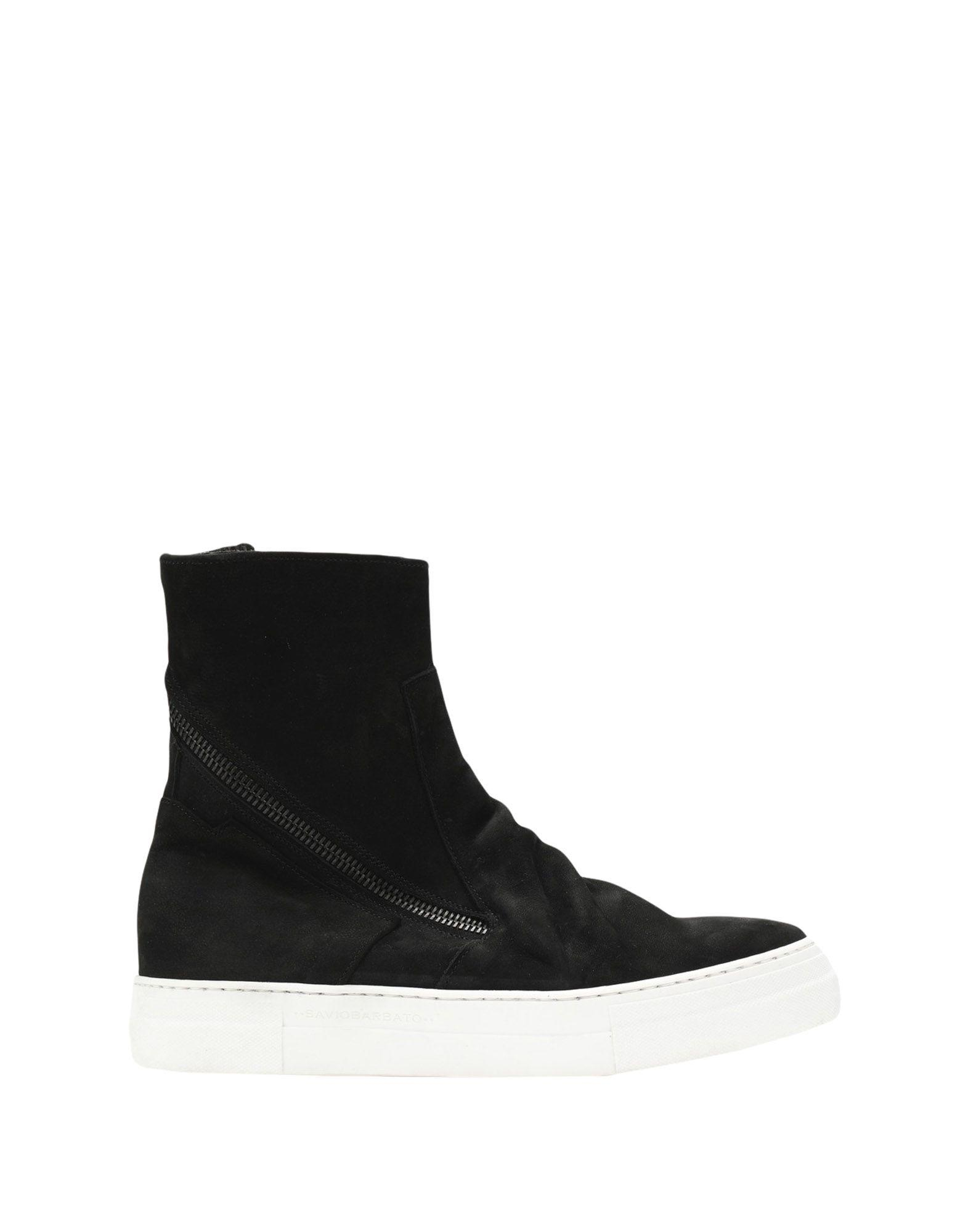 Savio Barbato Sneakers In Black
