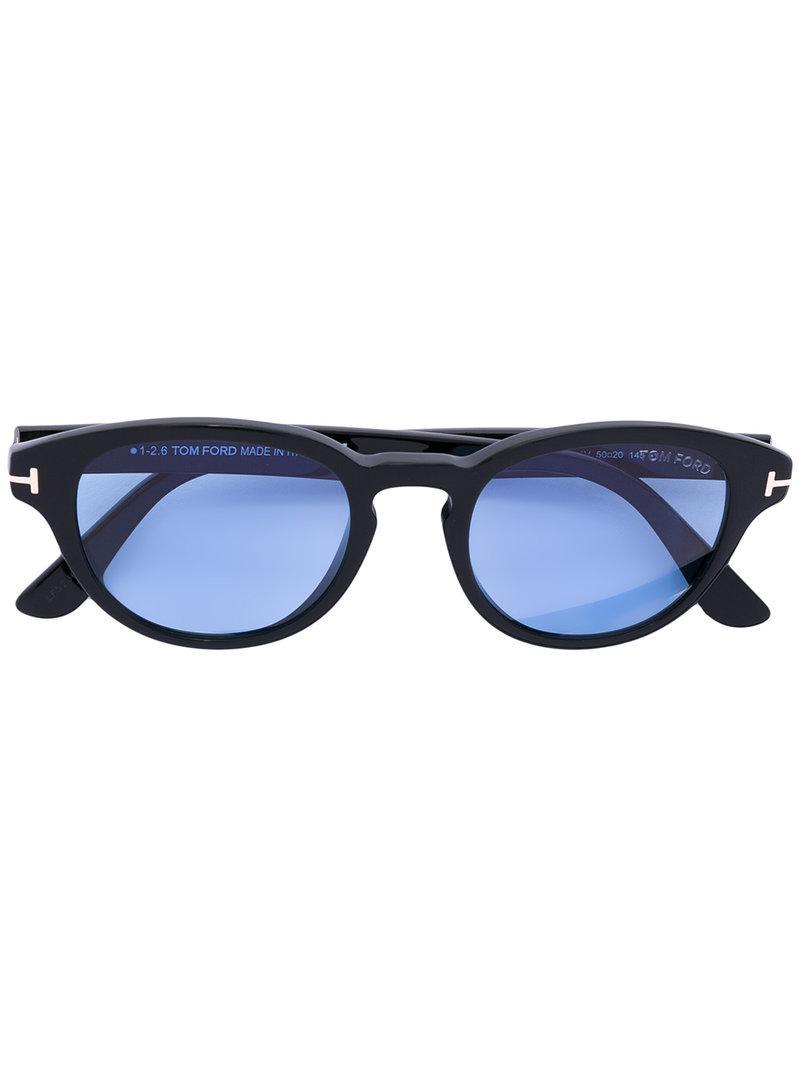 6cbd2dc6c01a Tom Ford Eyewear Von Bulow Sunglasses - Black