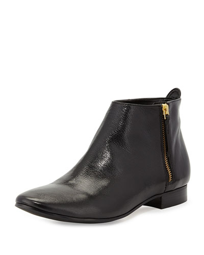 Cole Haan Belmont Leather Bootie, Black In Klack