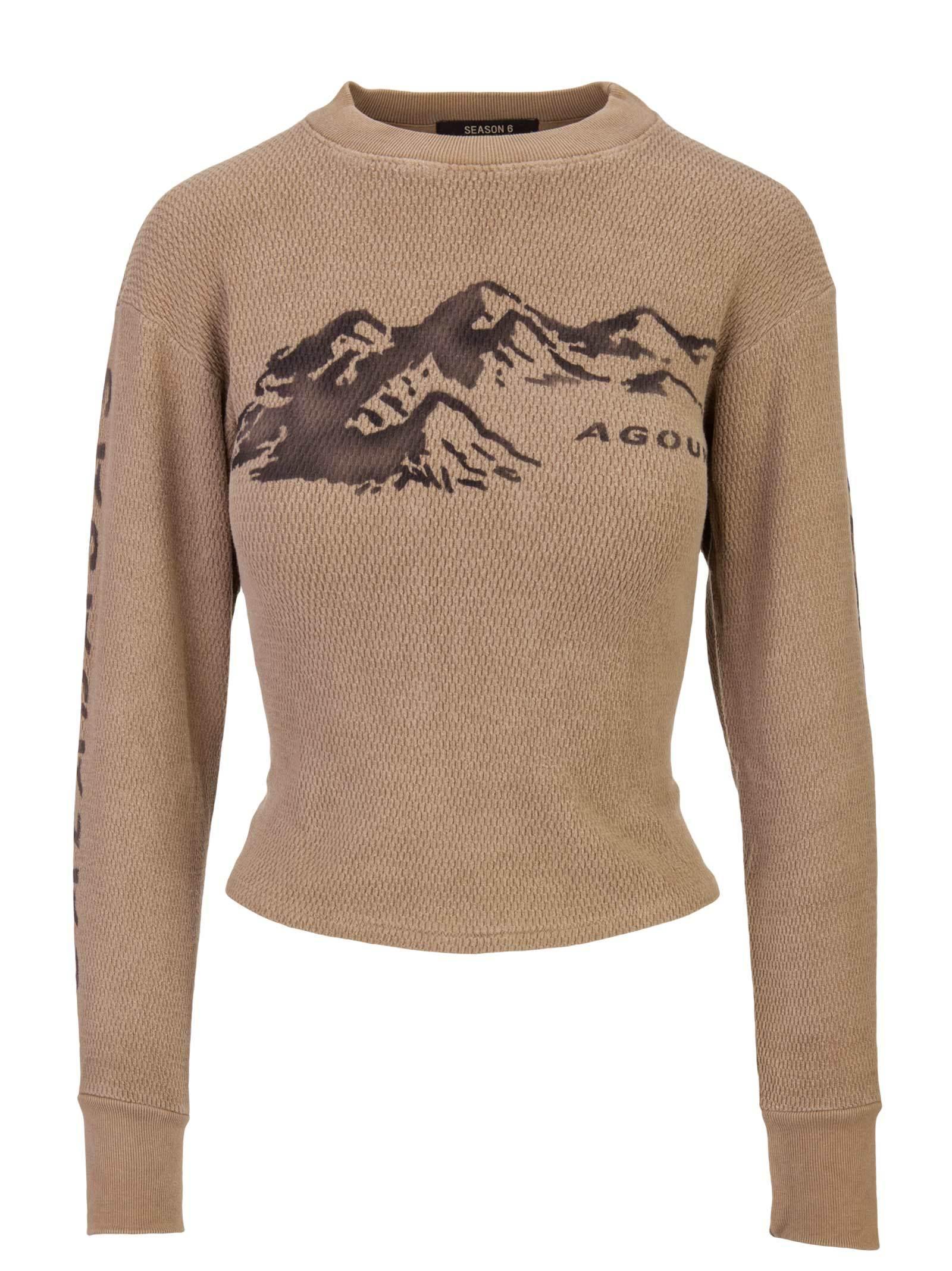 3c8e4822 Yeezy Season 6 Thermal Sweater In Brown | ModeSens