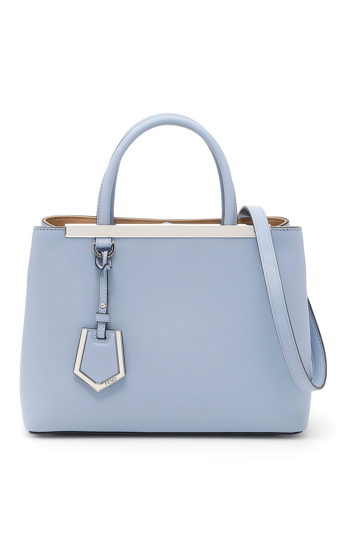 c47ace9a9a33 Fendi Petite 2Jours Tote Bag In Blue