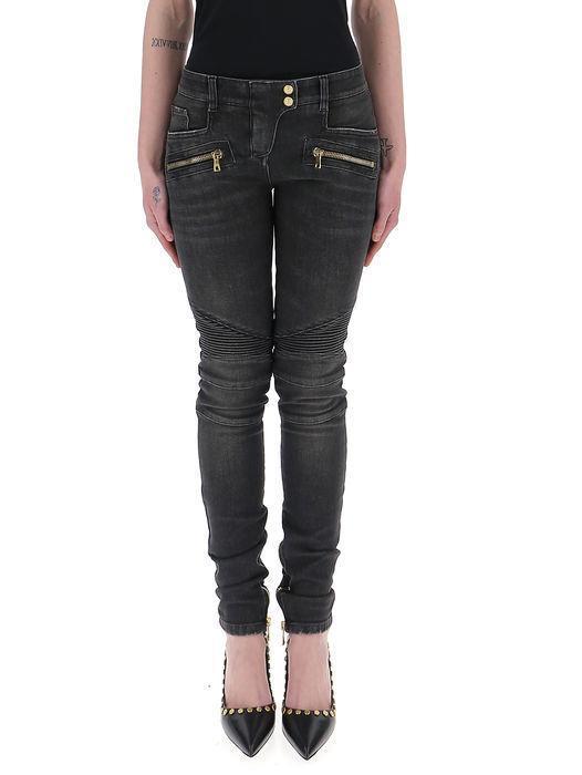 586623e6 Balmain Panelled Skinny Jeans In Grey | ModeSens