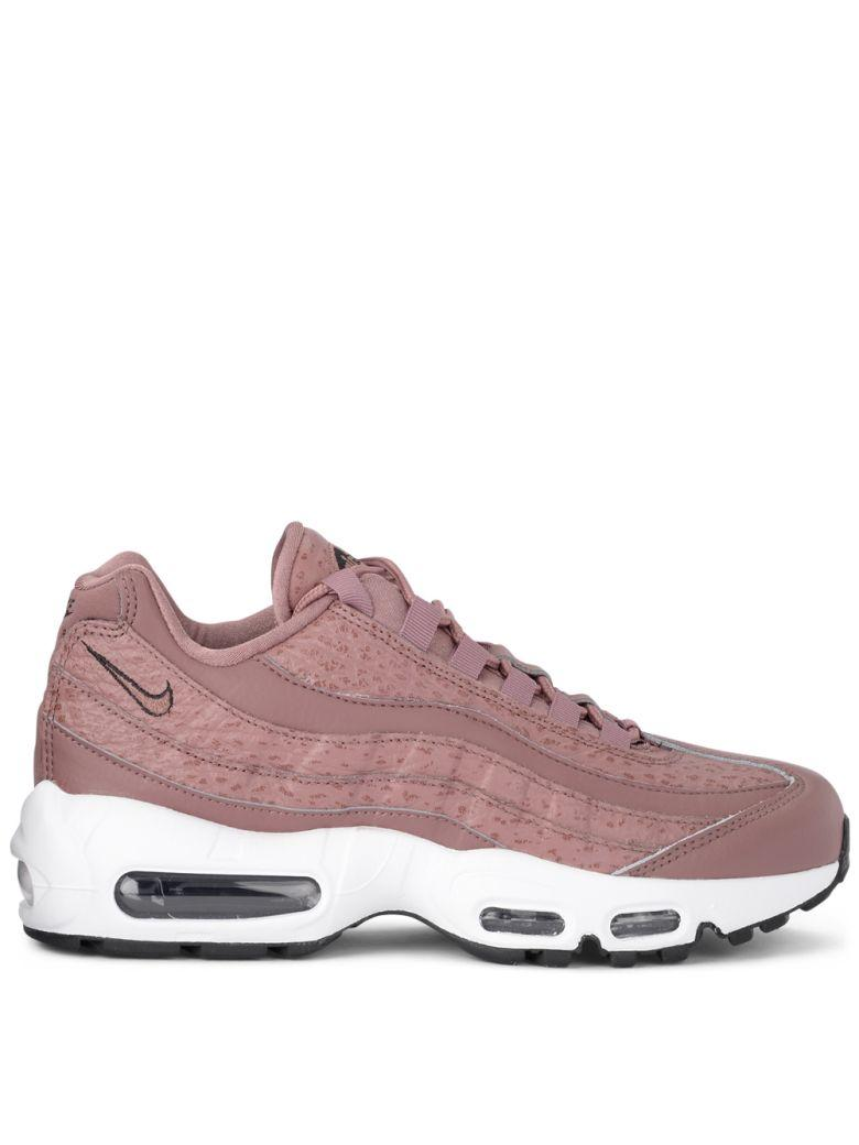 2be70ea0a620e Nike Model Air Max 95 Mauve Leather And Fabric Sneaker In Rosa ...