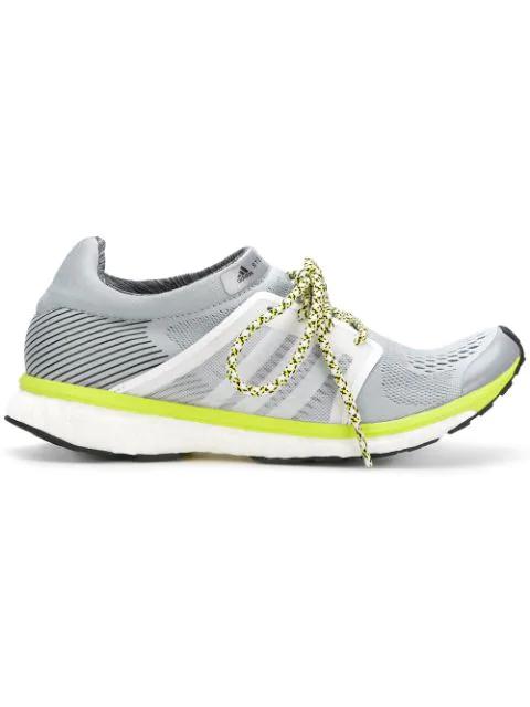 Adidas By Stella Mccartney Sneakers Mit SchnÜRung In Grey