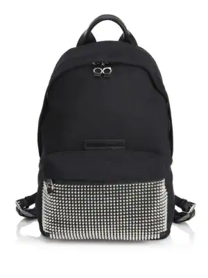 Mcq By Alexander Mcqueen Classic Studded Backpack In Black
