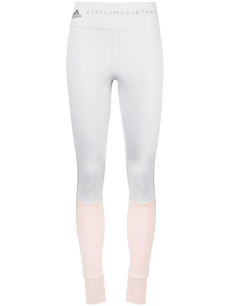 b8f60e6fc351bd Adidas By Stella Mccartney Yoga Comfort Leggings - Grey   ModeSens