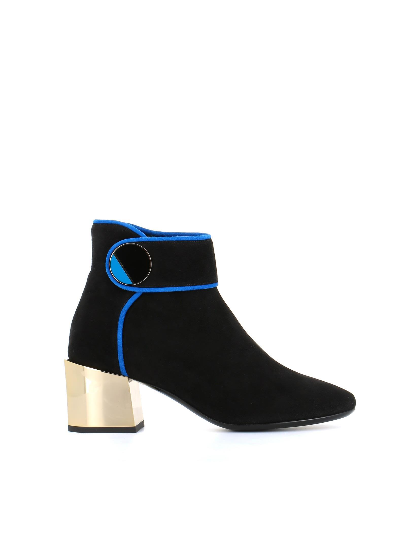 Lanvin Ankle Boots In Black