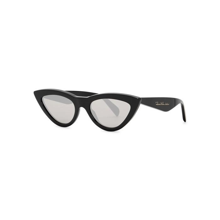 0d363fcf45 Celine Blue Cat-Eye Sunglasses. Harvey Nichols