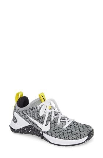 wholesale dealer 3c673 6ebf4 Nike Metcon Dsx Flyknit 2 Training Shoe In Black  White  Dynamic Yellow