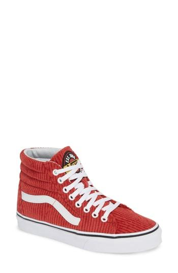 ca737966ea Vans Ua Sk8-Hi Design Assembly Sneaker In Bossa Nova  True White ...