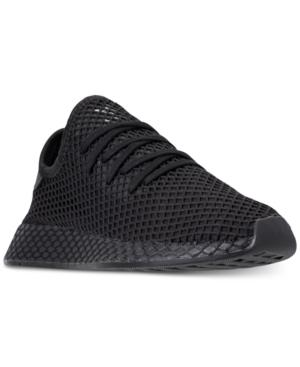 2e40da20ce218 ADIDAS ORIGINALS. Adidas Men s Deerupt Runner Casual Sneakers From Finish  Line in Core Black Core ...
