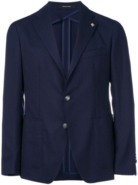 Tagliatore Classic Blazer In Blue
