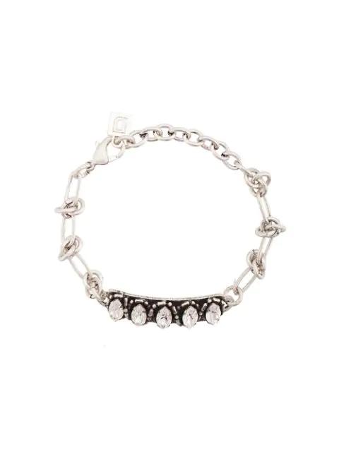 Dannijo Linsala Bracelet In Grey